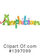 Royalty-Free (RF) Amphibian Clipart Illustration #1397099