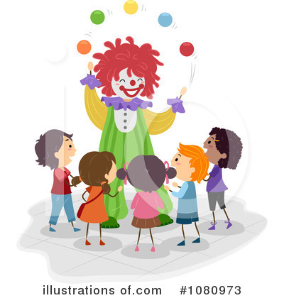 Royalty-Free (RF) Amusement Park Clipart Illustration by BNP Design Studio - Stock Sample #1080973