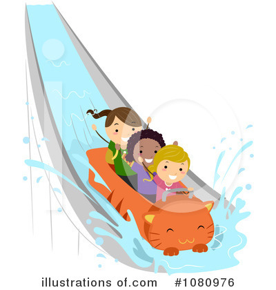 Royalty-Free (RF) Amusement Park Clipart Illustration by BNP Design Studio - Stock Sample #1080976