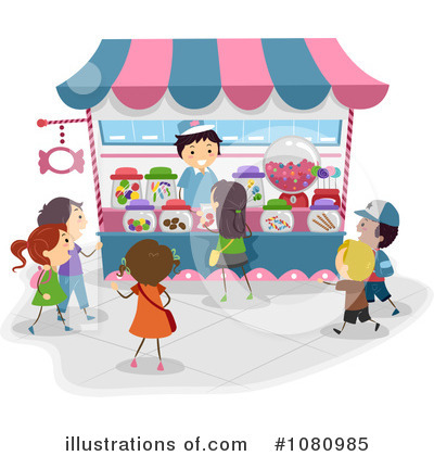 Amusement Park Clipart #1080985 by BNP Design Studio