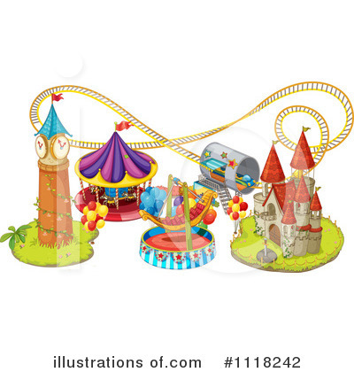 Castle Clipart #1118242 by Graphics RF
