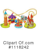 Royalty-Free (RF) Amusement Park Clipart Illustration #1118242
