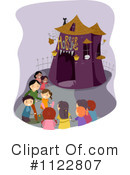 Royalty-Free (RF) Amusement Park Clipart Illustration #1122807