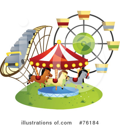 Amusement Park Clipart #76184 by BNP Design Studio