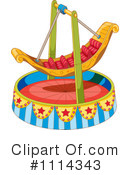 Royalty-Free (RF) Amusement Park Ride Clipart Illustration #1114343