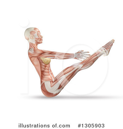 Anatomy Clipart #1305903 by KJ Pargeter
