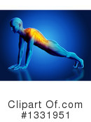 Anatomy Clipart #1331951 by KJ Pargeter