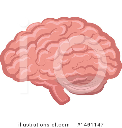 Brain Clipart #1461147 by Vector Tradition SM