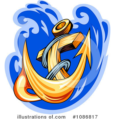 Anchor Clipart #1086817 by Vector Tradition SM