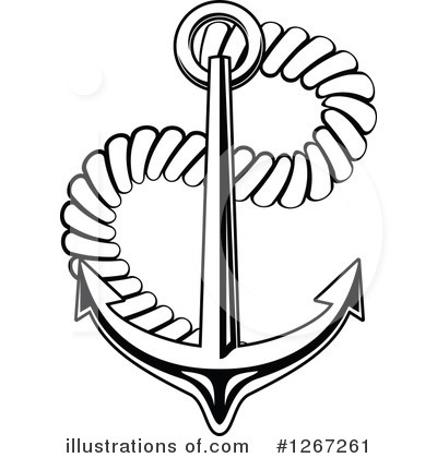 Anchor Clipart #1267261 by Vector Tradition SM
