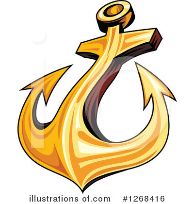 Anchor Clipart #1268416 by Vector Tradition SM