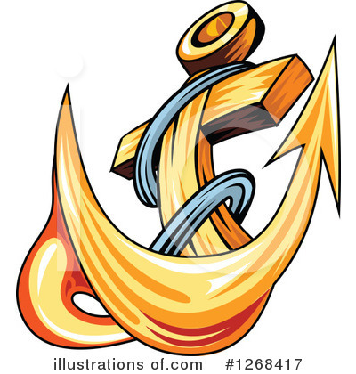 Anchor Clipart #1268417 by Vector Tradition SM
