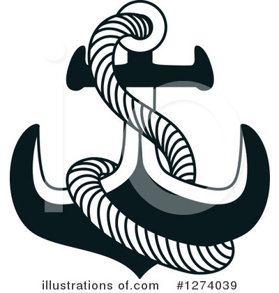 Anchor Clipart #1274039 by Vector Tradition SM