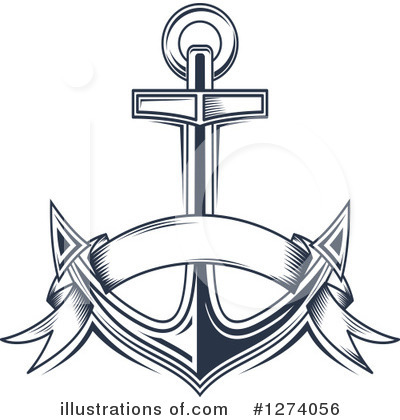 Anchor Clipart #1274056 by Vector Tradition SM