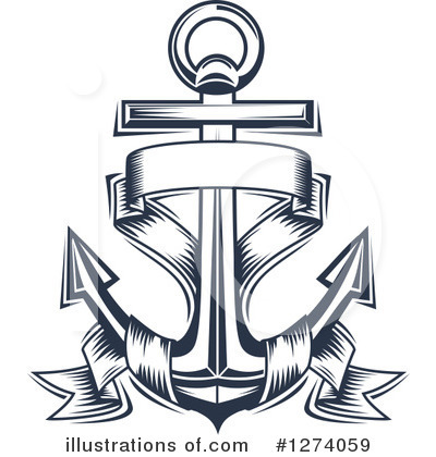 Anchor Clipart #1274059 by Vector Tradition SM