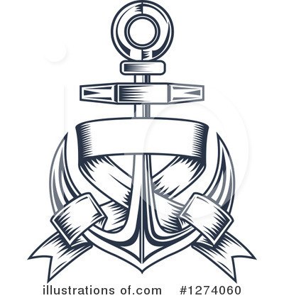 Anchor Clipart #1274060 by Vector Tradition SM