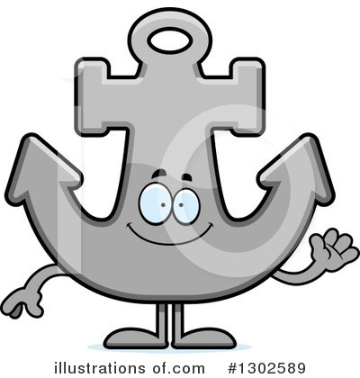 Anchor Clipart #1302589 by Cory Thoman