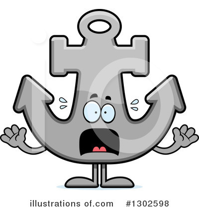 Anchor Clipart #1302598 by Cory Thoman