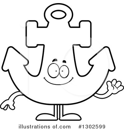 Anchor Clipart #1302599 by Cory Thoman