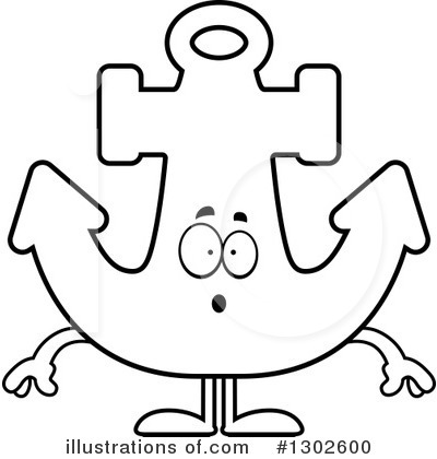 Anchor Clipart #1302600 by Cory Thoman