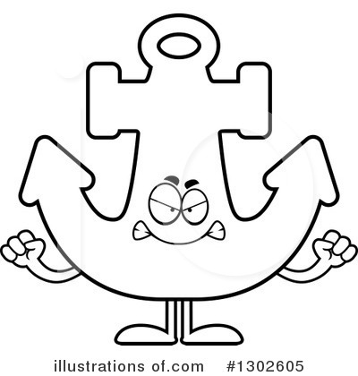 Anchor Clipart #1302605 by Cory Thoman