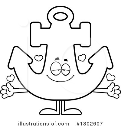 Anchor Clipart #1302607 by Cory Thoman