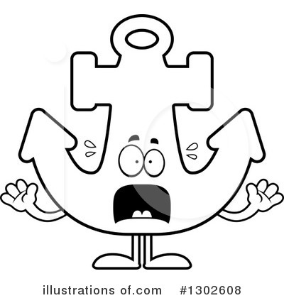 Anchor Clipart #1302608 by Cory Thoman