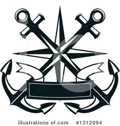 Anchor Clipart #1312094 by Vector Tradition SM