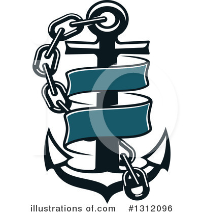 Anchor Clipart #1312096 by Vector Tradition SM