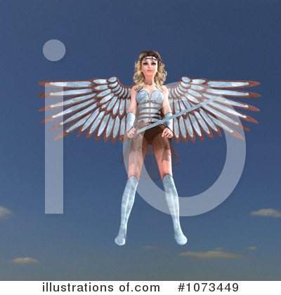 Angel Clipart #1073449 by Ralf61