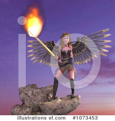 Angel Clipart #1073453 by Ralf61