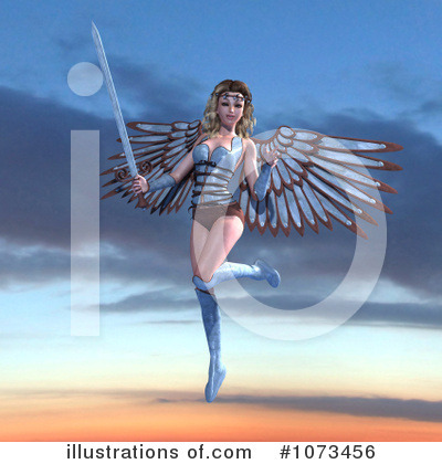 Angel Clipart #1073456 by Ralf61