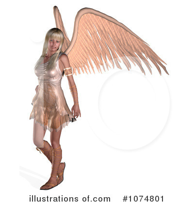 Angel Clipart #1074801 by Ralf61