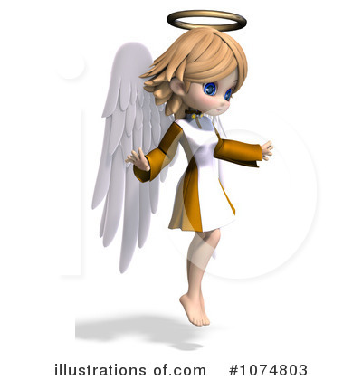 Angel Clipart #1074803 by Ralf61