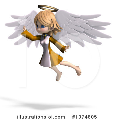Angel Clipart #1074805 by Ralf61