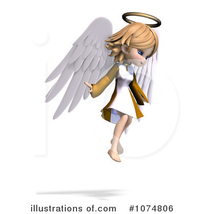 Angel Clipart #1074806 by Ralf61