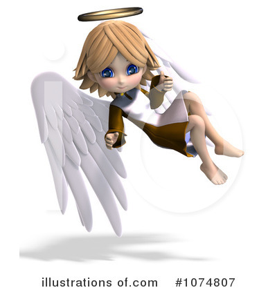 Angel Clipart #1074807 by Ralf61
