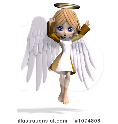 Angel Clipart #1074808 by Ralf61