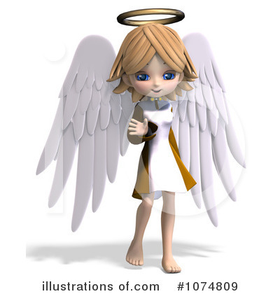 Angel Clipart #1074809 by Ralf61