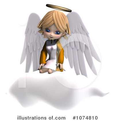 Angel Clipart #1074810 by Ralf61
