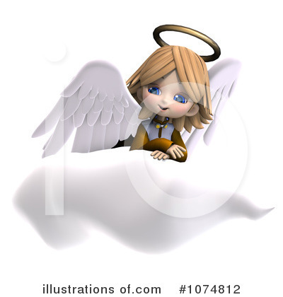 Angel Clipart #1074812 by Ralf61