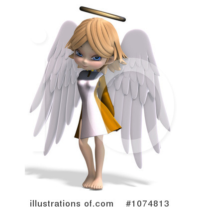 Angel Clipart #1074813 by Ralf61