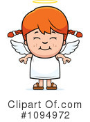 Angel Clipart #1094972 by Cory Thoman
