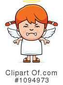 Angel Clipart #1094973 by Cory Thoman