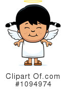 Angel Clipart #1094974 by Cory Thoman