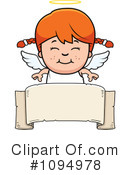 Angel Clipart #1094978 by Cory Thoman