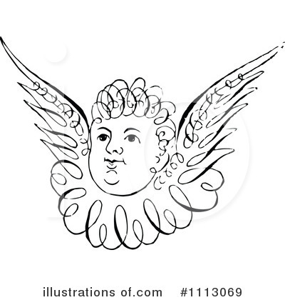 Cupid Clipart #1113069 by Prawny Vintage