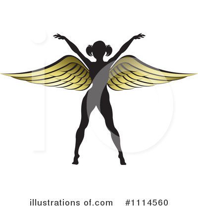 Angel Clipart #1114560 by Lal Perera
