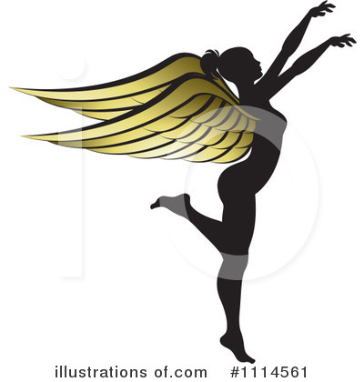 Angel Clipart #1114561 by Lal Perera