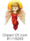 Royalty-Free (RF) angel Clipart Illustration #1115263